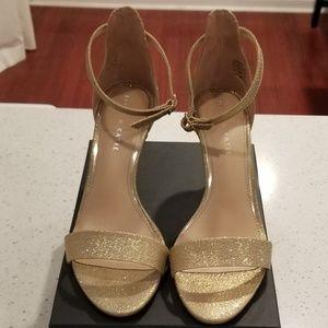 ♡Elegant-Sexy-Golden Heels♡